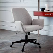 coloured office chairs. Aluna Upholstered Office Chair | West Elm AU Chair; . Coloured Chairs