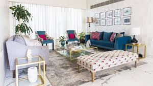Stylish design furniture Savannah This Modern Apartment In Mumbai Makes Case For Vibrant Colours And Strong Textures Green Front Furniture This Mumbai Apartment Leverages Art Colourful Decor For Stylish