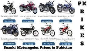 suzuki motorcycles price in pakistan 2017 pk bikes youtube