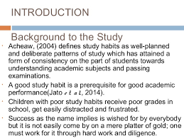 study habits conclusion and recommendations 3