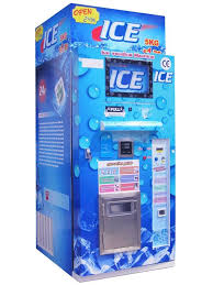 Vending Ice Machine Simple Semiautomatic Ice Vending Machine BC Series China Trading Company