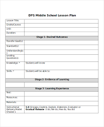 lesson plan template word doc lesson plan template 10 free word pdf document downloads free