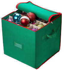 Christmas Decorations Storage Box Amazon Christmas Ornament Storage Stores Up To 100 Holiday 4