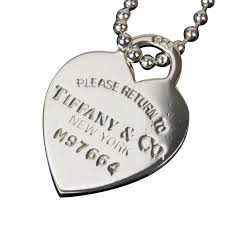 sterling silver 925 return to tiffany heart tag necklace 8c055 reebonz canada