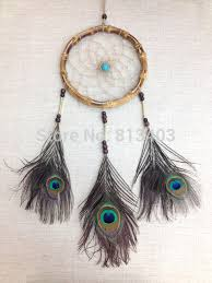 Bamboo Dream Catcher Bamboo Circle Handmade Dream Catcher Big Dream Catcher Room Decor 45