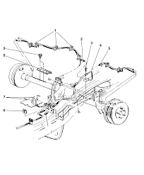 52129022 genuine mopar line brake rh moparpartsgiant jeep grand cherokee fuel system parts 1996 jeep cherokee brake diagram