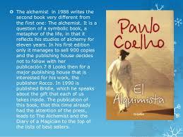 paulo coelho 6  the alchemist in 1988