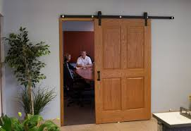 could we use existing doors but the barn door track hardware and change the way they open hardware from barndoorhardware