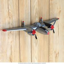 wall decor metal airplane wall decor cool airplane propeller intended for recent metal airplane