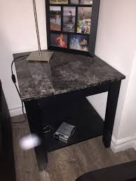 description have three table for great for living room coffee table and matching end tables