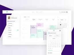 Calendar Interface Design Calendar Design For B2b Platform By Vstorm Team On Dribbble