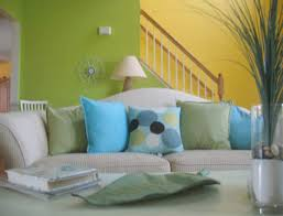 Yellow And Blue Living Room Decor Green Blue Living Room Innovative Lighting Design In Addition To