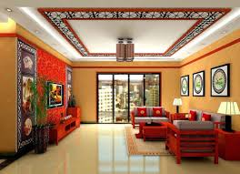 chinese style living room ceiling. Chinese Wall Decor Fresh Oriental Asian Living Room With Decorative Ceiling Design Style