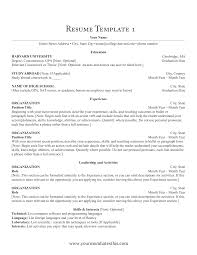 Create Resume Format In Word New How To Make An Simple For Job Best