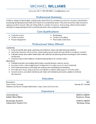 Resume Templates: Stocker