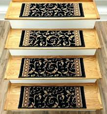indoor stair treads indoor stair treads interior carpet stair treads dean modern wraparound inside stair rug
