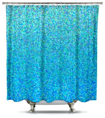 blue raspberry fabric shower curtain by catherine holcombe standard size contemporary shower bright blue shower curtains
