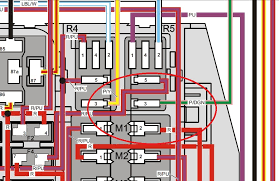 hi i have a not starting problem on my 2007 volvo penta locate the fuse box then locate the 3 amp fuse on the r5 side i circled it in red pull the fuse and see how much corrosion is in that socket