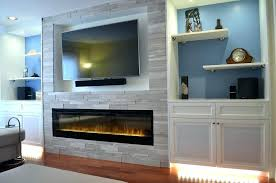 tv on fireplace mantel decorating