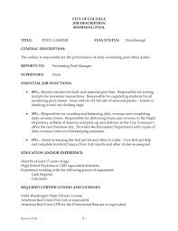 Stunning Restaurant Cashier Job Description Pdf Photos - Office ...