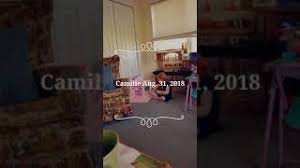 2018 August Camille playing at Nana & Papa's - YouTube