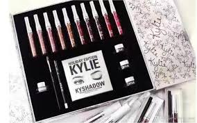 dropshipping kylie jenner make up sets eyeshadow palette makeup brushes holiday edition box kit matte lip gloss collection lipstick boots makeup sets