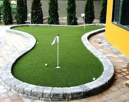 diy outdoor putting green best putting greens images on golf putting green outdoor diy outdoor practice