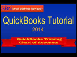 Setting Up Chart Of Accounts In Quickbooks 2014 Quickbooks Training 2014 How To Set Up Chart Of Accounts