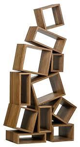 cubist furniture bookcase dark walnut traditional bookcases style cubism s68 cubism