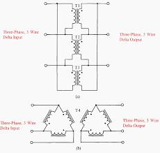 Three Phase Transformer Design Geometry Delta Wye