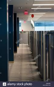 office cubicle door. Exit Sign In A Cubicle Farm. - Stock Image Office Door S