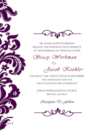 Formal Invitations Template - Fiveoutsiders.com