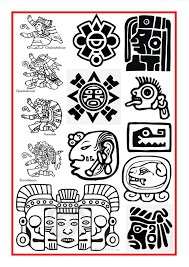Small Picture Top 25 best Mayan symbols ideas on Pinterest Aztec art Aztec