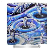 37 best shower curtains decorative shower curtains with art prints