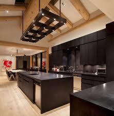 Dark Wood Floors In Kitchen Contemporary Dark Wood Kitchen Cabinets