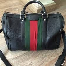 als 5 years ago south jakarta indonesia gucci boston bag leather