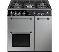 Why Dual Fuel Range Buy Smeg Blenheim 90 Cm Dual Fuel Range Cooker Silver Black