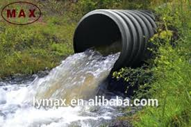 large drain pipe large diameter corrugated pi plastic high density double wall corrugated drain pi from