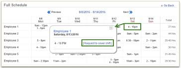 Employee Shift Shift Swap Requests Employee Store User Guide 2