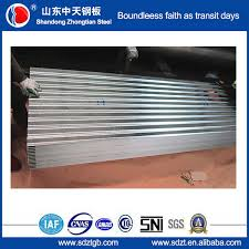 factory corrugated galvanized steel roofing sheet 914mm export to malaysia