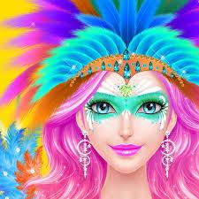 summer carnival salon rio fiesta 2016 spa makeup dressup party makeover