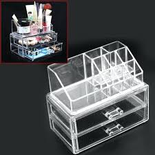 clear acrylic makeup organizer with drawers clear acrylic drawer whole acrylic makeup organizer