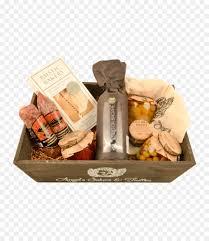 food gift baskets salami italian cuisine her gift basket png