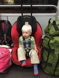 how to travel with car seat
