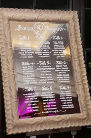 Wedding Seating Chart Calligraphy Bianca Just Write Studios