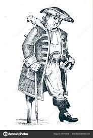 пиратские или капитан человек на корабле путешествующих через