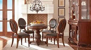 dining room chairs yorkshire. cindy crawford home key west tobacco 5 pc round dining room with oval chairs - sets dark wood yorkshire