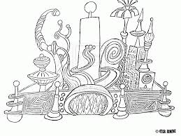 Disneyland Castle Coloring Page - Coloring Home