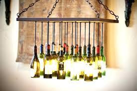 liquor bottle chandelier hanging lamp like this item wine kit