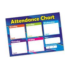Attendance Chart Attendance Chart 20 Cards A6